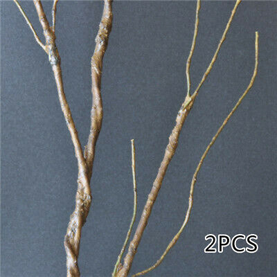 100x Fake Dry Branches Twigs Plants Iron Wire Stem for Dinning Hall Ornament