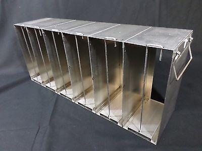 Laboratory Upright Freezer Rack for 96 384-Well Microtiter Plates Locking Rods