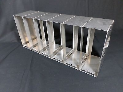 Laboratory SS Side Access Upright Freezer Rack 96 384-Well Microtiter Plates