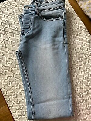 Boys/Men's Blue Faded Skinny Jeans Size W28 L32 from Primark