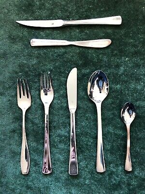 Vintage WMF silver-plated flatware service, original boxes and catalog