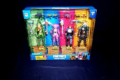 """Fortnite Squad Mode Brite Bomber /& Accessories 4/"""" Action Figure by Jazwares HTF"""