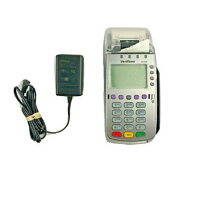 Verifone VX 520 Credit Card Payment Terminal Includes Power Supply