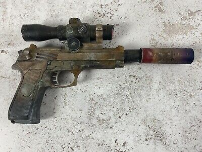 Fallout / Star Wars Style Plastic Blaster Prop, Cosplay, Collectable Pro Painted