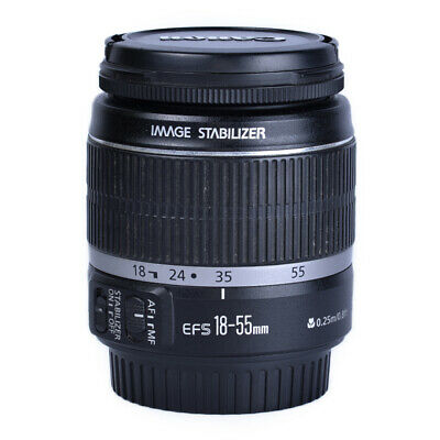 Canon EF-S 18-55mm f/4-5.6 IS Lens *Good Condition*