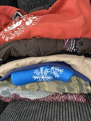 Boys  Bundle Age 7-8-9 Years Next top joggers gillet river island jacket George