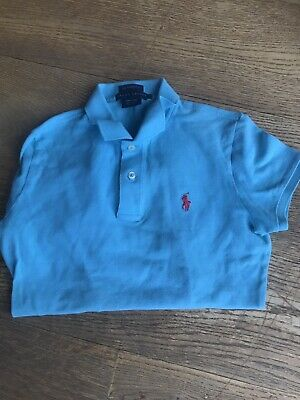 Ralph Lauren Boys Skinny Fit Polo Shirt