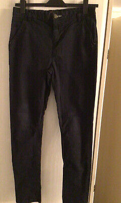 NEXT Boys Navy Black Chino Jeans Age 16