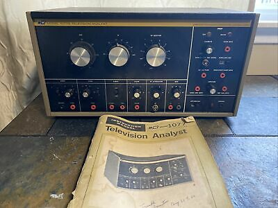Vintage B+K Precision Television Analyst Equipment Model 1077B  Parts or repair