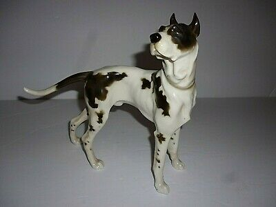 Beautiful Large Hutschenreuther Great Dane Dog Figurine