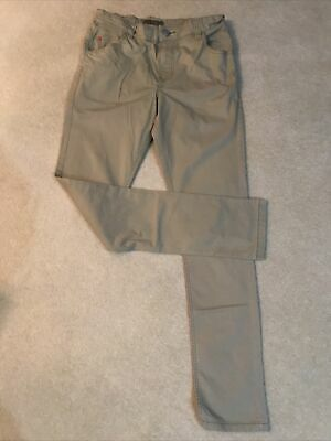 Next Boys Beige Chino Trousers Age 13 Years