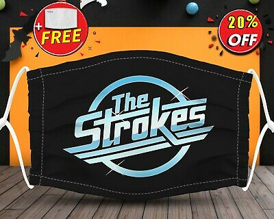 Strokes Band Rock And Roll   Face Mask Reusable Washable With Filter Pocket