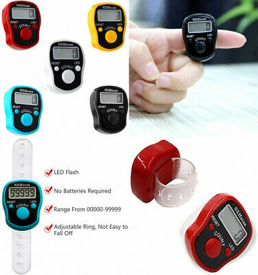 GC CG Tally Finger Counters - 5 Digital five-pack counter, LED Counter