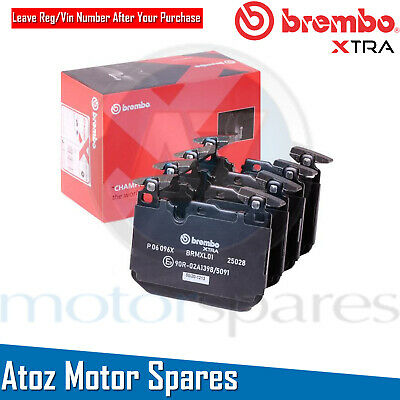 For BMW M2 M3 M4 + Competition Pack Front Brembo XTRA Performance Brake Pads Set