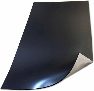 MAGNETIC SHEET 0.75MM THICK SELF ADHESIVE BACKING 610MM WIDE