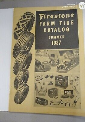 1937 Firestone Farm/Tire Summer Catalog  Kerns & Kennedy Implement Humboldt Neb