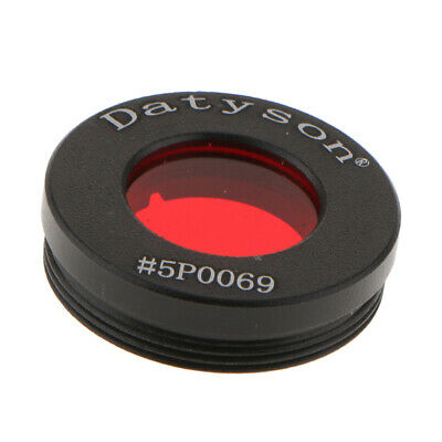 """0.965"""" Eyepiece Nebula/Moon/Planet Filter for Astronomical Telescope #25A"""