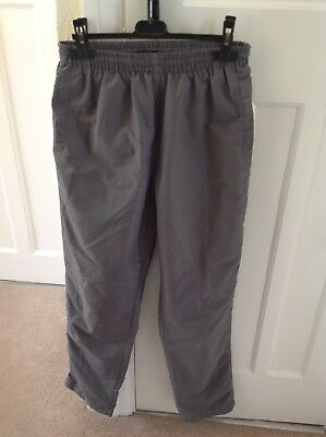 Drawstring elasticated waist trousers by Workout Size M
