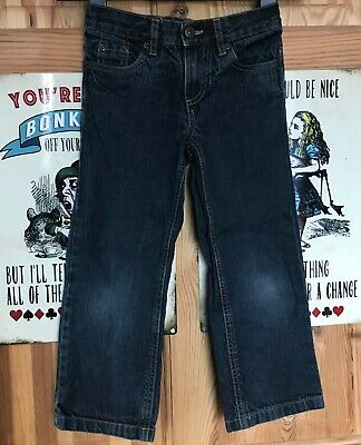 Age 6 Years jeans Dark Blue Classic Fit Straight Leg Denim trousers