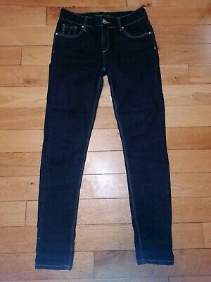 *River Island* Gorgeous Dark Blue Denim Skinny Leg Stretch Jeans