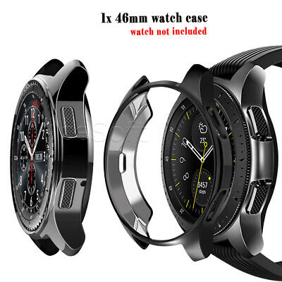46mm Ultra-thin TPU Plating Watch Case Cover for Samsung Gear S3 Frontier R765V