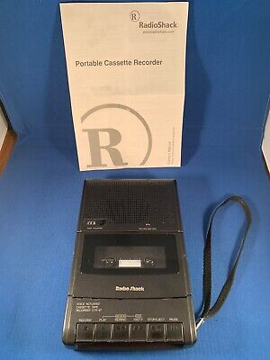 Radio Shack Voice Actuated Desktop Cassette Tape Recorder CTR-67 Model 14-1152