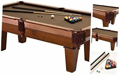 Fat Cat Frisco 7.5' Pool Table with Classic Style Billiard Pockets and Contempor