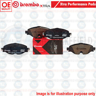 FOR VW GOLF MK7 FRONT AXLE BREMBO Xtra FAST ROAD PERFORMANCE BRAKE PADS SET