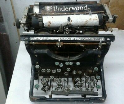 Underwood 11 Make offer. Will sell for cost of shipping.