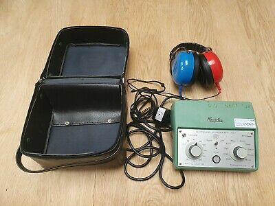 Kamplex AS7 Interacoustics Screening Diagnostic Audiometer With Headphones and C