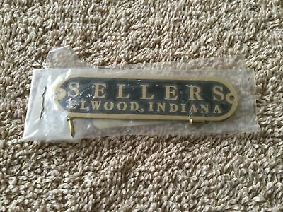 Sellers Elwood Indiana Kitchen Cabinet Brass Tag Replacement