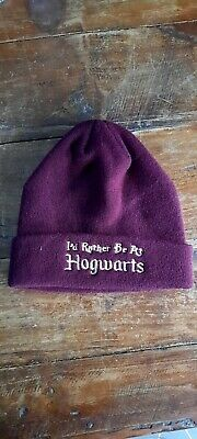 Cappellino nuovo HARRY POTTER colore Bordeaux