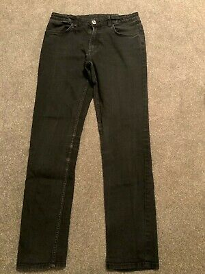 H&M BOYS SKINNY FIT JEANS SIZE 14+YRS BLACK   Great 4 summer LOOK NOW  👀