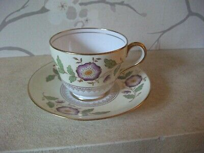 Antique Copeland Spode Floral Decorated Cup And Saucer