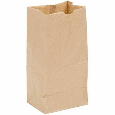 - Brown Bag 4-100 4lb Brown Paper Lunch Bags - Pack of 100ct