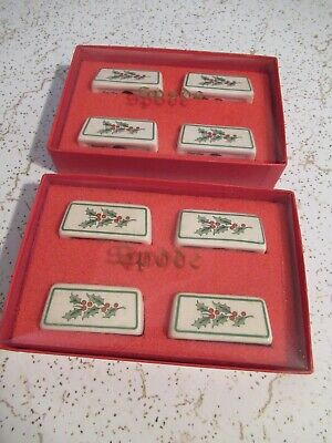 Spode place card holders