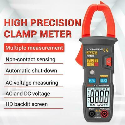 ANENG ST183 Digital Clamp Meter Multimeter 4000Counts Mini DC RMS Amp True Y0J9