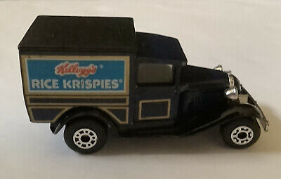Vintage MATCH BOX  Rice Krispies Truck 1979 Model A Ford Car made in Thailand