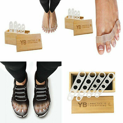 YOGABODY AwesomeToes! Corrective Toe Spacers, Latex-Free