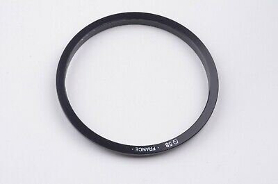 EXC++ GENUINE COKIN A SERIES 58mm ADAPTER RING, MADE IN FRANCE