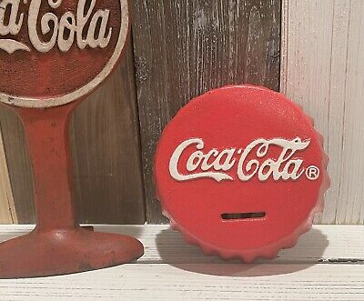 Antique Style Classic Coca Cola Bank Vintage Rustic Decor Paperweight