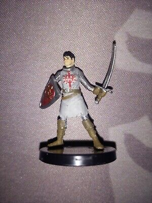 D/&D Mini RECLAMATION INFANTRY  #6  Knight!! Crown of Fangs - HARD TO FIND!!