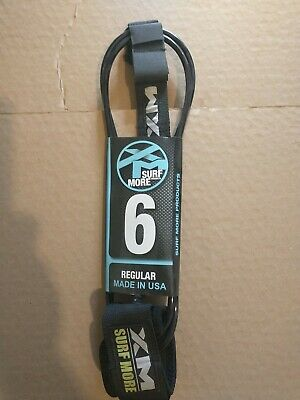 Hawaii PRO Series Surf Leash RED 8 FT Hairy Deck Pro