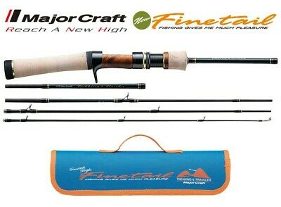 Major Craft Finetail Area FAX-B642UL Baitcasting Rod for Trout Tracking NEW