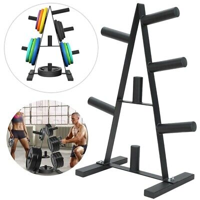 CALIDAKA Barbell Bumper Plate Rack,Horizontal Dumbbell Storage Display Stand,Dumbbell Weight Rack,Olympic Bar Holder Weight Storage Stand,Bar Frame Storage for Home Gym Rack