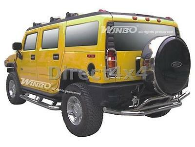 Gmc Hummer H2 S/S Rear Back Bumper Skid Bar Replacement Accessory Part