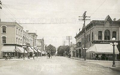 Maquoketa Iowa Main Street downtown 1916 /& 1907 photos lot CHOICES three 5x7s or