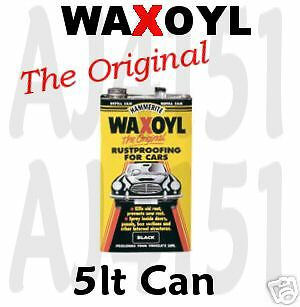 WAXOYL under body seal protect Rust proofing 5lt Clear