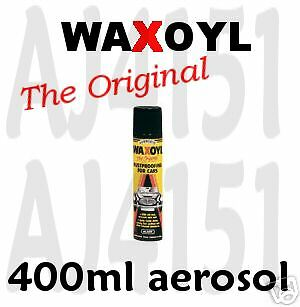 WAXOYL under body seal protect Rust proof 400ml Clear