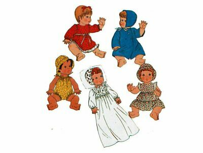 """Simp 8817 OOP 17""""-18"""" BABY DOLL CLOTHES COAT PATTERN"""